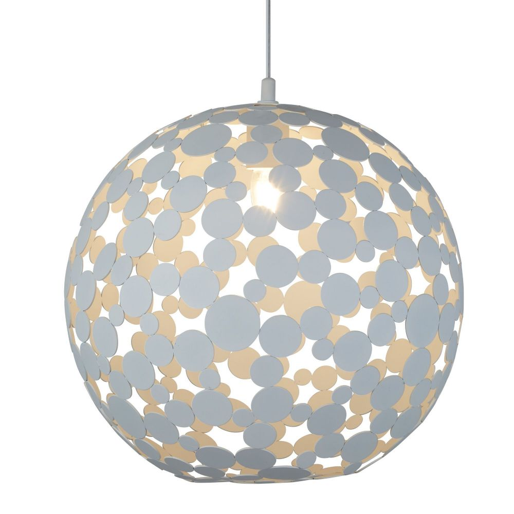 Avalon1 Light Large Pendant (40Cm Dia), Sand White 5609-40Wh